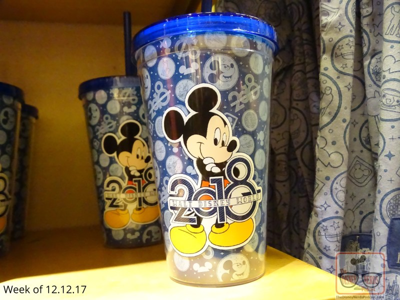 """This week """"2018 merchandise"""" is in full swing. Shirts, sweatshirts, mugs, backpacks, galore are available at Mickeys of Hollywood. Just locate the """"what's new this week """"showcase of the store. Get those final gifts on your holiday list."""