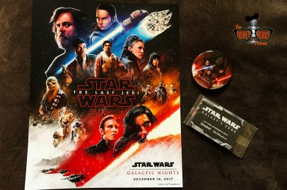Mini Poster, Movie Button, and Trading Cards