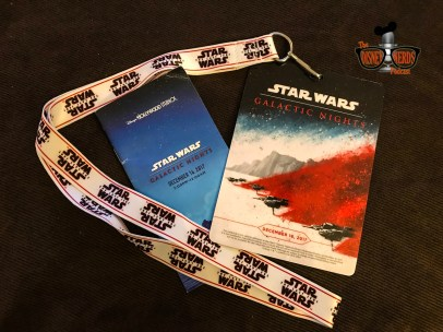 """Event """"ticket with lanyard and event guide"""