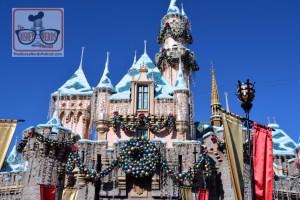 Sleeping Beauty Castle ready for Christmas