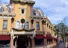 Christmas Decorations on Main Street