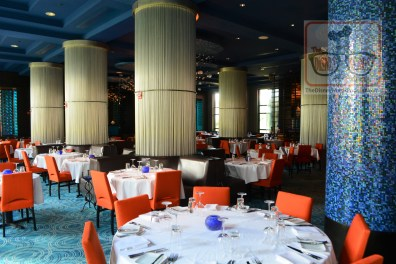 The WDW Dolphin features Todd English's bluezoon is one of many dining options. Bluezoo feature tithe freshest seafood and coastal cuisines from around the world.