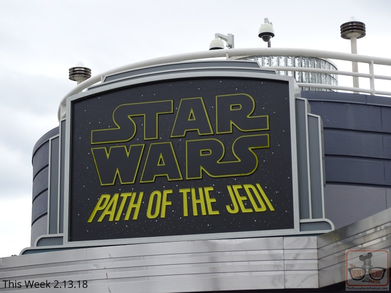 The Path of the Jedi near Echo Lake now boasts scenes from the Last Jedi that blasted into theaters nation-wide last December.