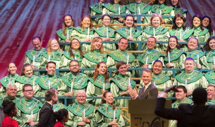 #DisneyParksLIVE – Neal Patrick Harris Candlelight Processional – December 4th