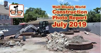 The Disney Nerds Podcast Constructino Photo Reprot July 2019