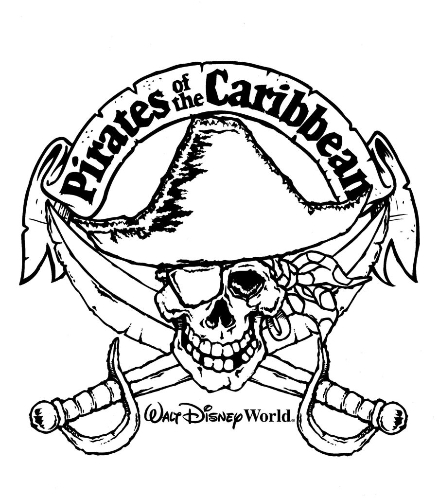 Free Walt Disney World Coloring Pages Free, Download Free Clip Art ... | 1024x903