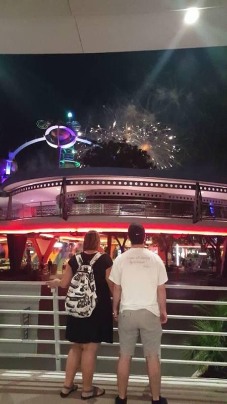 Disney College Program fireworks