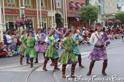 Merida's dancers