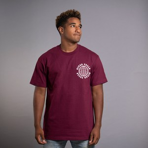 River Falls Burgandy T-Shirt