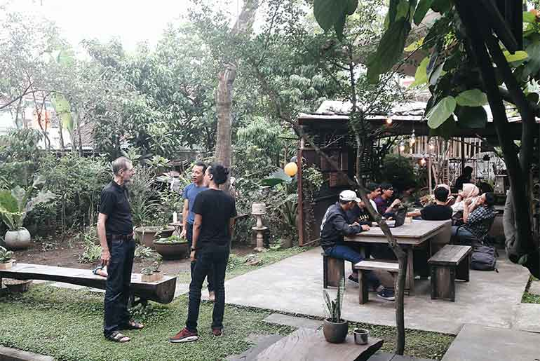 Gartenhaus Co-Working Space Malang