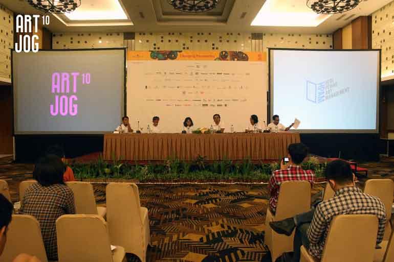 ART|JOG 10 Press Conference