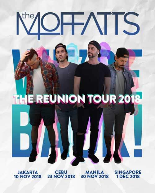 The Moffats & Blue for The 90's Festival LineUp Indonesia
