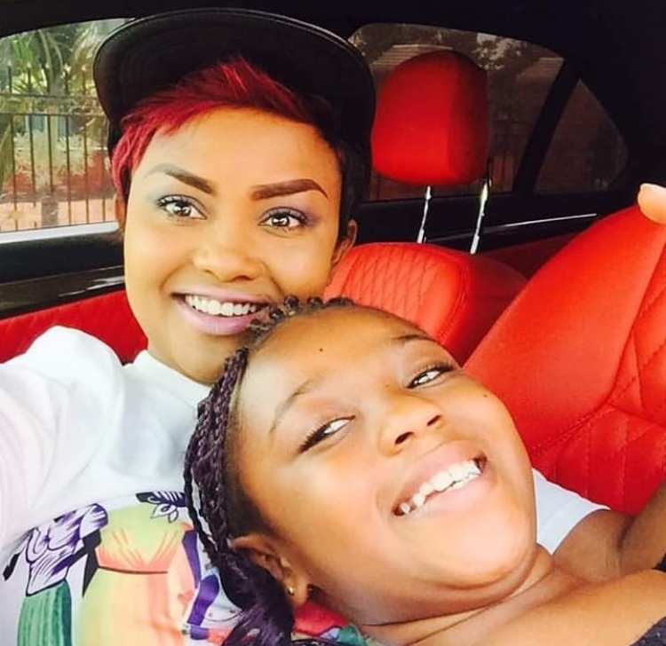 Nana Ama Mcbrown's daughter Nikita Mcbrown