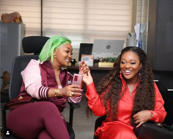 Nana Ama Mcbrown and Jackie Appiah