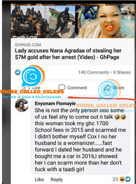 Lady narrates how she scammed Nana Agradaa to get her car after losing Ghc1700. 4