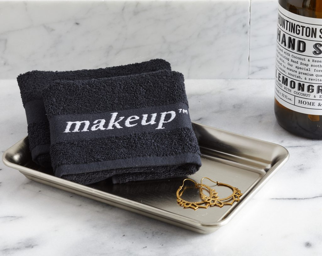 makeup vacation rental towels