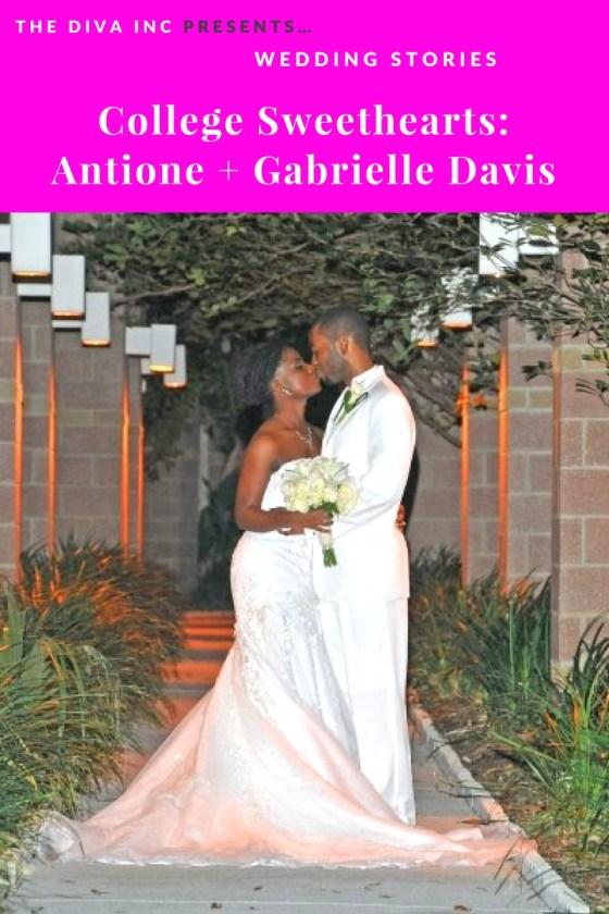 College Sweethearts: Antoine + Gabrielle Davis