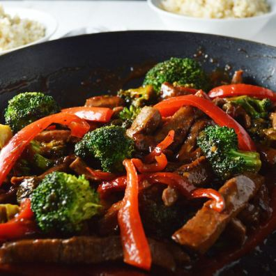 Spicy Beef and Broccoli