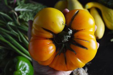 Tomato, Basil and Balsamic Salad