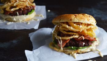 Sassy BBQ Pork Burger - The DIY Foodie