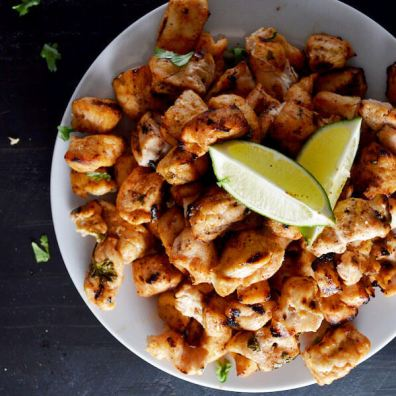 Lemon Lime Chicken Skewers