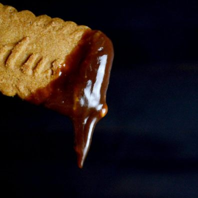 3 ingredient Chocolate Peanut Butter Fondue