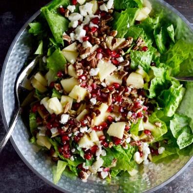 15 minute Fresh Fall Salad