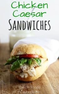 Caesar Sandwiches