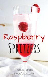Raspberry Spritzers