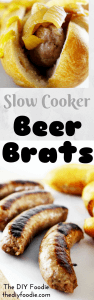 Slow Cooker Beer Brats