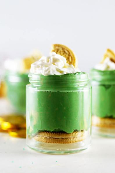 Green Velvet Cheesecakes
