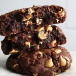 Gooey Chocolate Peanut Butter Chip Cookies