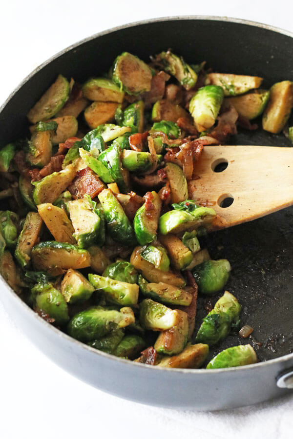 My Favorite Bacon Brussel Sprouts
