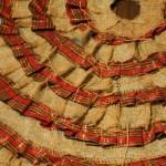 Make A No Sew Ruffled Christmas Tree Skirt The Diy Mommy