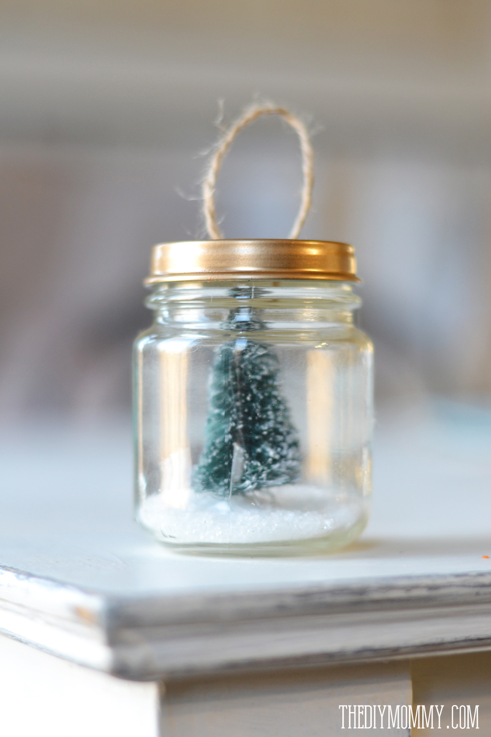 DIY Christmas Ornaments Christmas Trees Amp Faux Snow In A