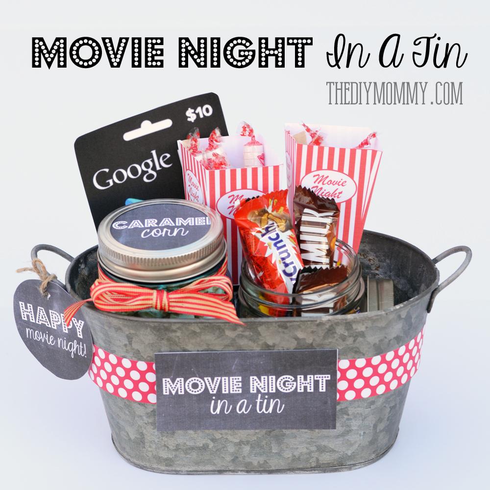Resultado de imagem para movie night in a tin