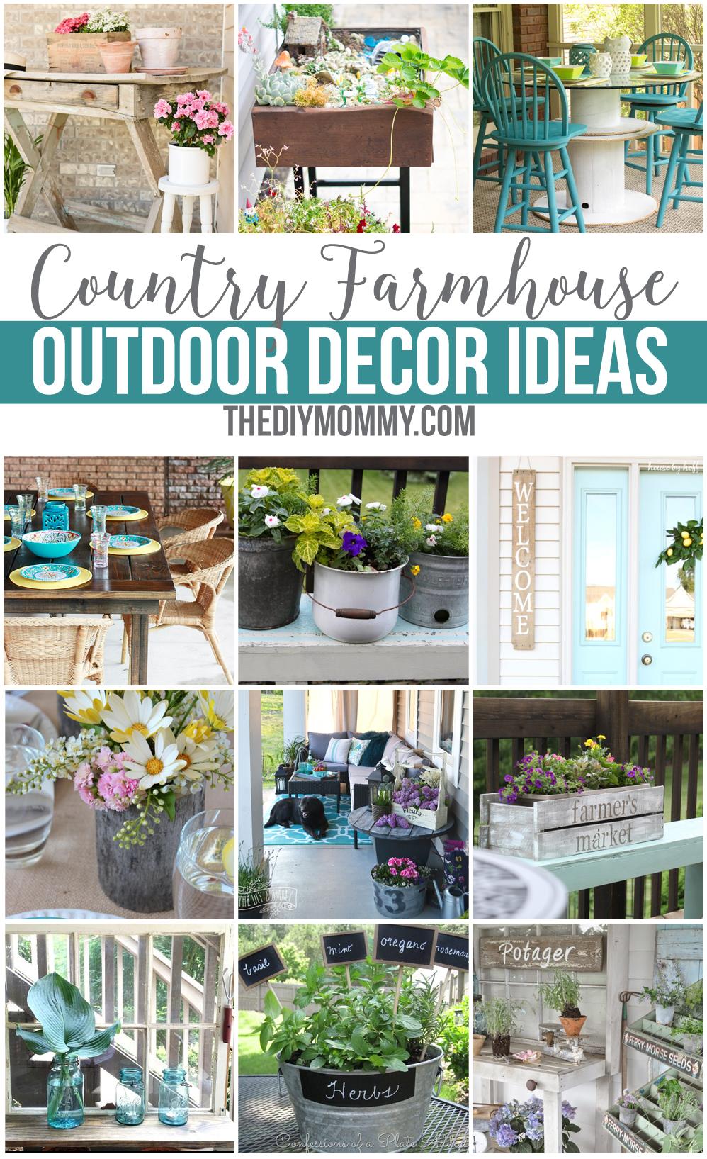 12 gorgeous country farmhouse outdoor