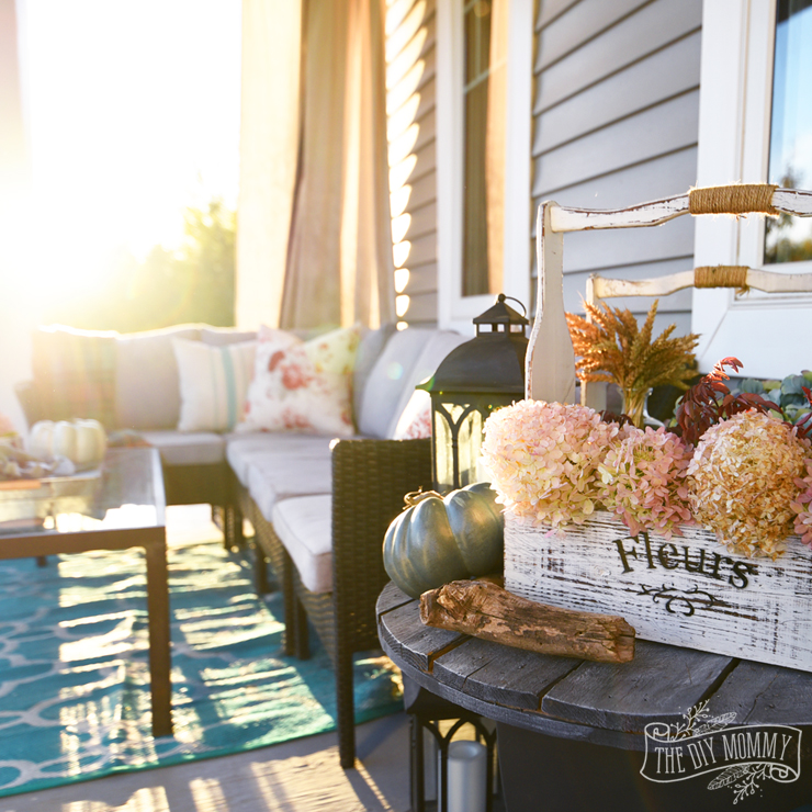 Our Colorful Fall Front Porch The DIY Mommy