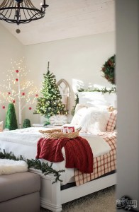Traditional Christmas Bedroom Decor Ideas Mom S Lake House