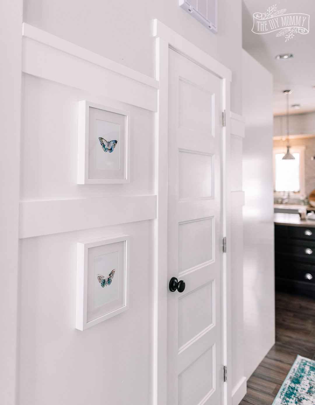 Small Entry Makeover With Tons Of Hallway Storage The Diy Mommy