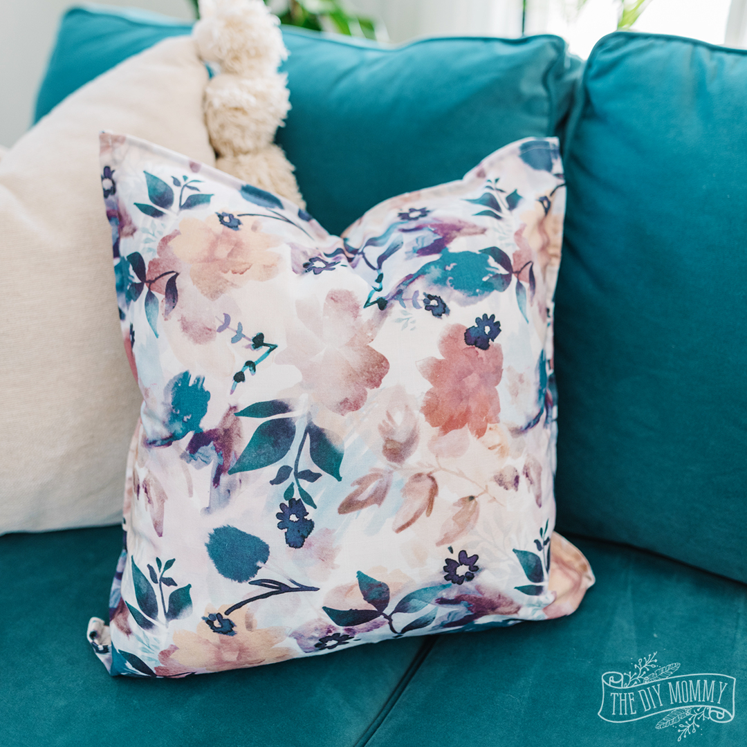 diy pillow from napkins no sew the