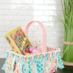 Make An Easter Basket Garland With Scrap Fabric The Diy Mommy