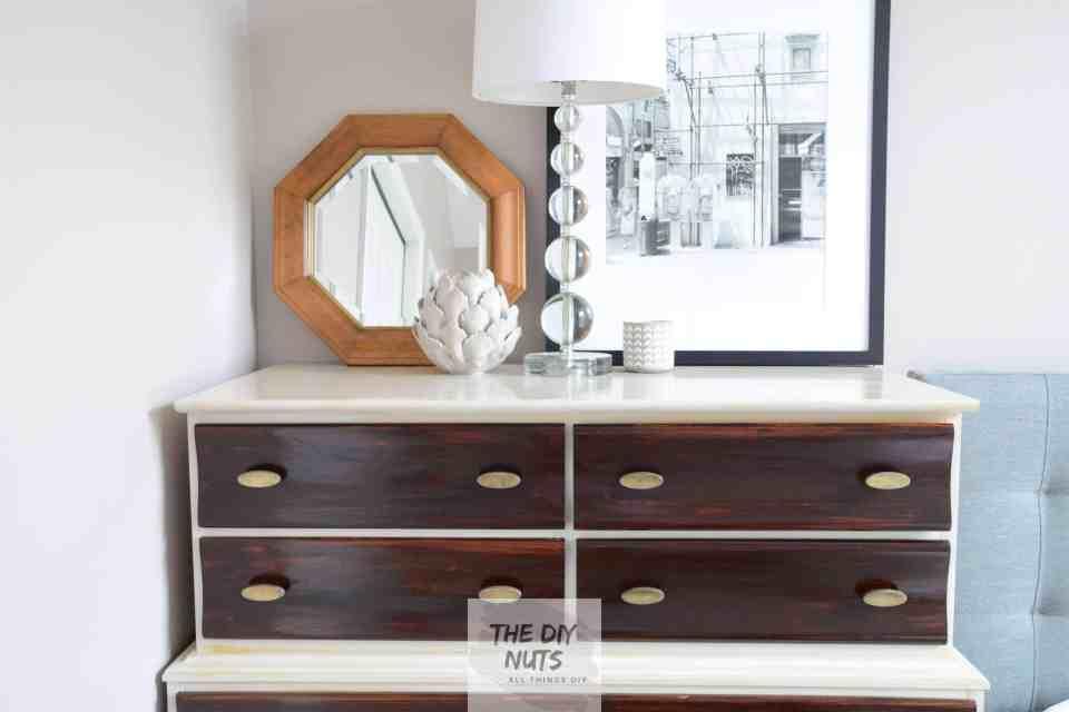 Diy Midcentury Modern Dresser Makeover The Diy Nuts