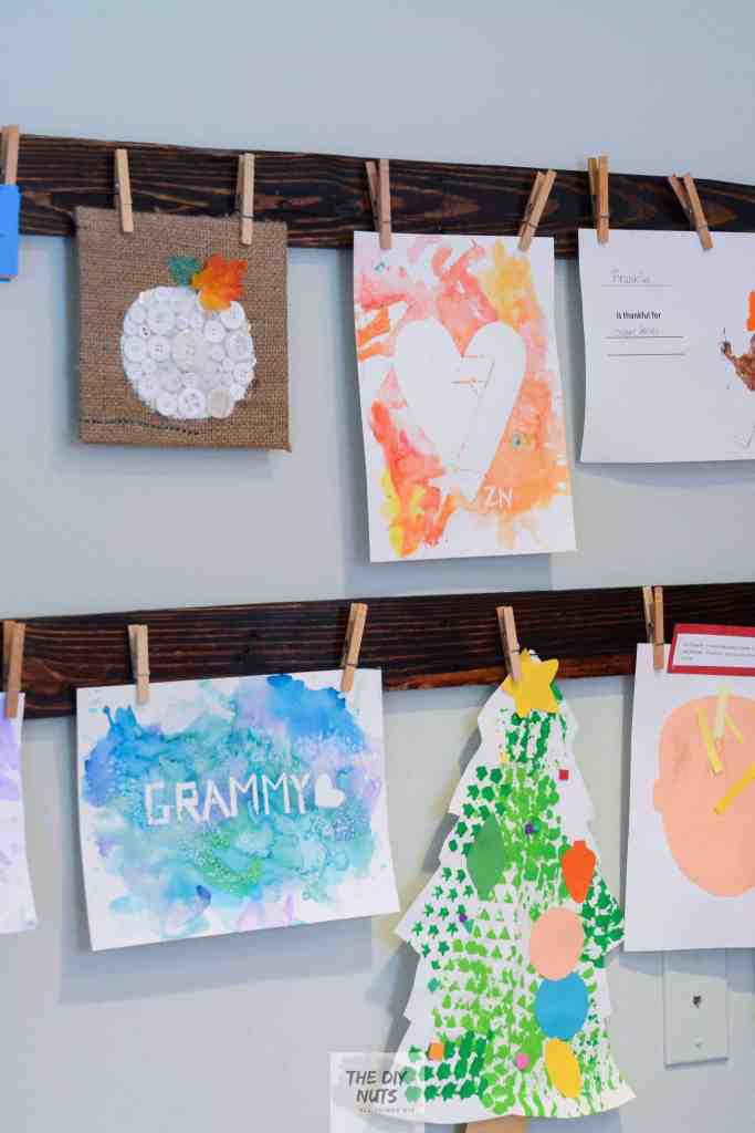Diy Easy Artwork Displays Tips What To Do With All The Art