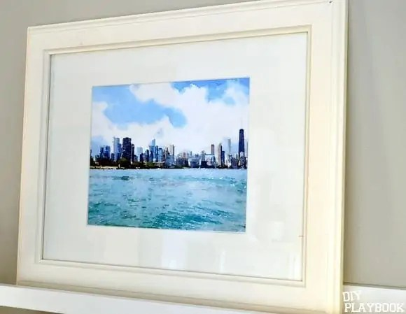 Chicago-Skyline-Watercolor