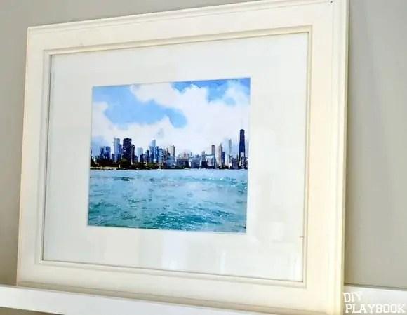 Chicago-Skyline-Watercolor