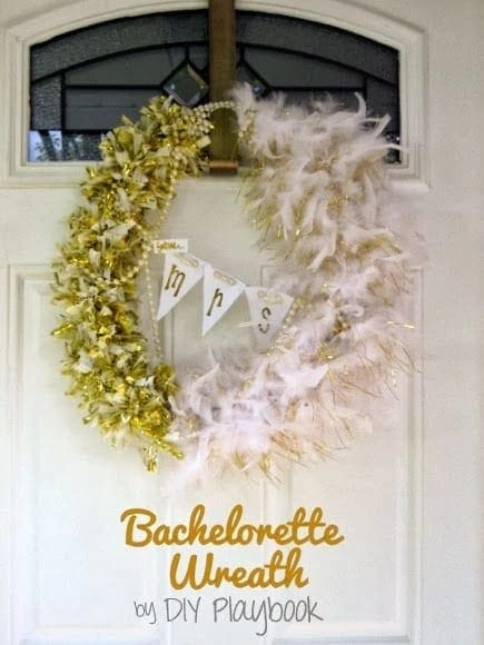 bachelorette wreath