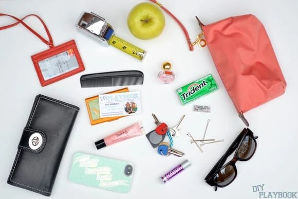 Items in handbag