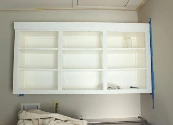 white cabinet makeover
