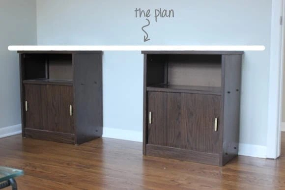 DIY DESK PLAN